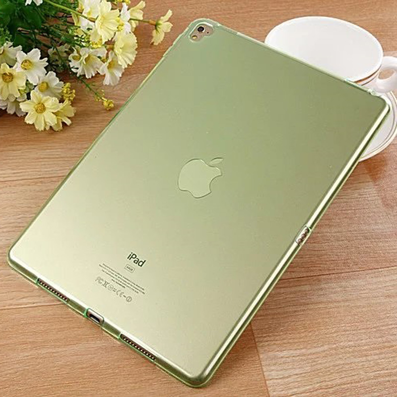 Slim Soft TPU Silicone Case For Ipad Pro 9.7 Transparent Clear Back Cover For Ipad Pro 9.7 A1673 A1674 Skin Shell+Stylus