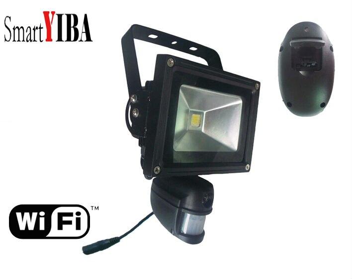 SmartYIBA 960 P 1.3MP WI-FI Беспроводной Открытый DVR безопасности Камера светодиодный свет лампы Ночное видение ПИР обнаружения движения видео Запись
