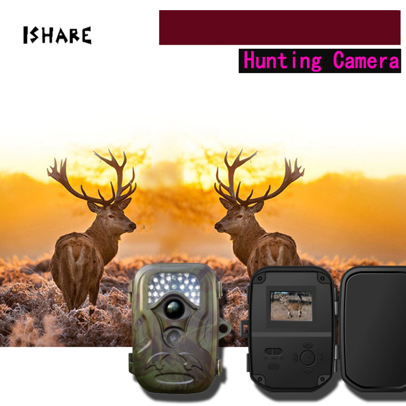 Infrared HD Scouting Trail Camera Night Vision 26pcs IR Lens Field Wildlife Photo Trap 12MP Surveillance Camera ltl acorn 5210a scouting hunting camera photo traps ir wildlife trail surveillance 940nm low glow 12mp