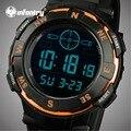 INFANTERÍA Lujo Marca Hombres Deportes Relojes LED Digital Resistente Al Agua Cronómetro Militar Al Aire Libre Del Relogio masculino
