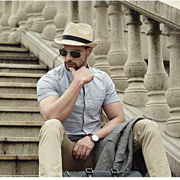 adbf2ff6fea Detail Feedback Questions about Retro Men Summer Fedora Hat Trilby Gangster Cap  Summer Gentleman Beach Sun Straw Panama Hat Sunhat 12 on Aliexpress.com ...