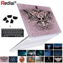 For Macbook Case air 11 13 12 Cover Fantasy Skull Pattern Print PC Mac book Pro 15 Retina New inch Laptop