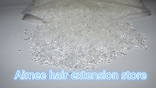 цена на Freeshipping ITALIAN Keratin glue grain 1000g/pack keratin glue granule White color for I tip/ U-tip hair