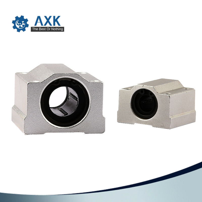 10pcs/lot SC8UU SCS8UU 8mm Linear Ball Bearing Block CNC Router With LM8UU Bush Pillow Block Linear Shaft CNC 3D Printer Parts
