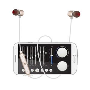 Image 5 - QAIXAG جديد سماعة لاسلكية تعمل بالبلوتوث سماعة الرياضة المغناطيسي سماعة رأس بخاصية البلوتوث في الأذن لجميع الهواتف المحمولة مع بلوتوث