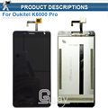 Oukitel K6000 Pro LCD Display +Touch Screen digitizer sensor for oukitel k6000 Pro lcd screen+Tools