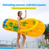 Flip flops Inflatable Floating Row Water Toy For Adult Children Kids Pool Float Adult Swimming Pool Party Ring Toys