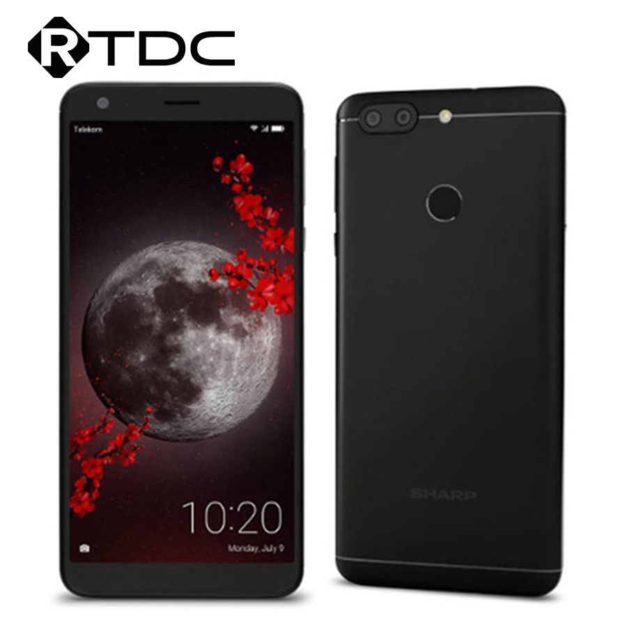SHARP B10 MT6750T Octa-core 3GB Ram 32GB Rom Dual-SIM Android 7.0 Smartphone 13MP + 8MP Camera 4000mAh 4G LTE Mobile phone(China)