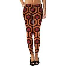 YX Girl Plus Size 3d Print Cartoon Honeycomb Womens Sex Leggings Women Legging Pant Workout Mid Waist