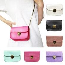 New 2019 Mini Small Women Fashion Summer Bag Chain Simple Shoulder Messenger Bags Candy Color Crossbody Totes PU Leather Handbag цена в Москве и Питере