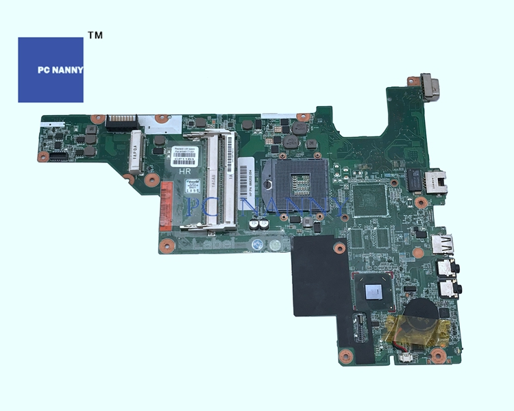 PCNANNY Mainboard 646177 001 for HP Compaq Presario CQ57 CQ43 HM65 DDR3 GRADE A laptop motherboard