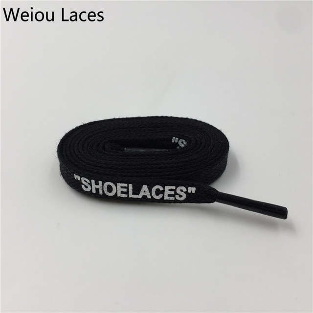 828eff8548467 Weiou Heavy Duty Waxed Cotton Flat Shoe Laces With Handmade Printing