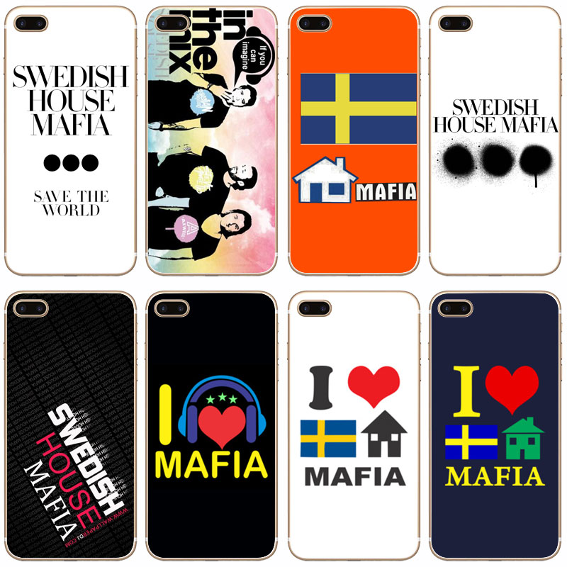 G297 Swedish House Mafia Transparent Hard Thin Case Cover For Apple iPhone 4 4S 5 5S SE 5C 6 6S 7 8 X Plus