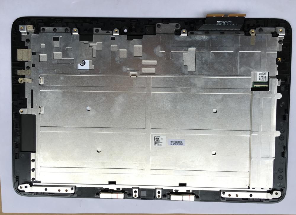 Prix pour Noir Pour Asus T100H T100HA X5-Z8500 10.1 ''À Écran Tactile Digitizer + LCD Affichage Assemblée Verre Pièces De Rechange avec cadre