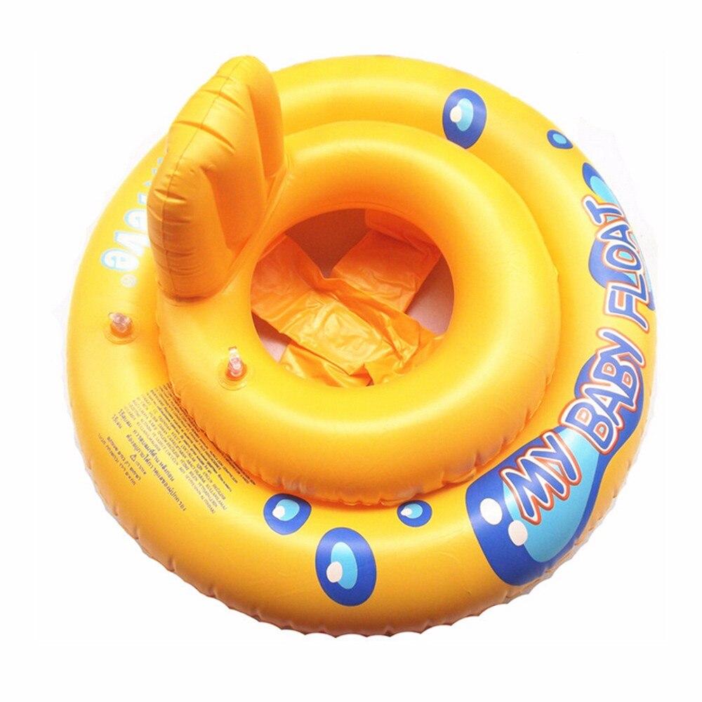 Enfant PVC Gonflable Infantile De Natation Anneau De Natation Siège Piscine Float Anneau De Bain Bouée de Sauvetage Bébé Aisselle Cercle Montage Siège