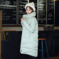 2016 winter jacket women down cotton jacket parkas women coat medium-long thicken plus size women cotton-padded jacket clothing