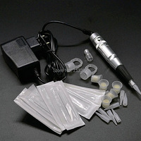 Professional permanent makeup machine and needles Tips plastic tubes