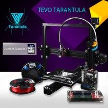 2017 Imprimante TEVO Тарантул I3 Single/Двойной Экструдер 3D Принтер комплект DIY reprap prusa I3 2 Impresora Рулонов Нити Как Подарок