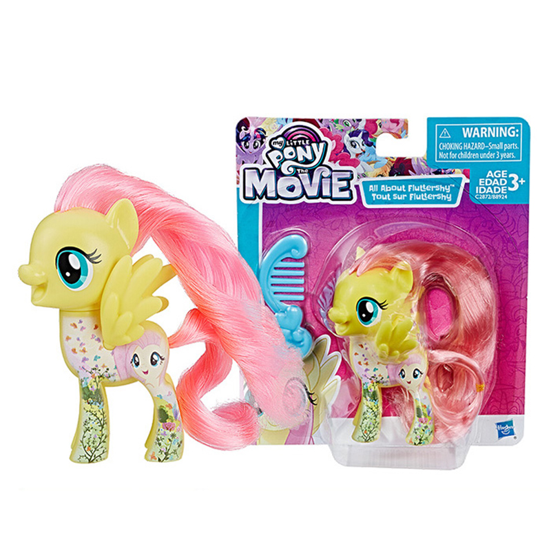 Original Brand My Little Pony Toys Friendship is Magic Rainbow Dash Pinkie Model Toy For Little Baby Birthday Gift Girl Bonecas
