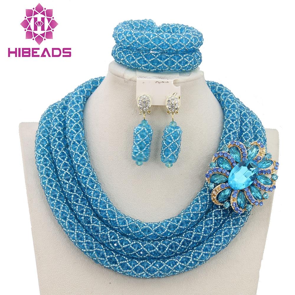 Beautiful Fashion Beads Set Marvelous Wedding Jewelry Set Handmade Item Free Shipping BN287 beautiful set