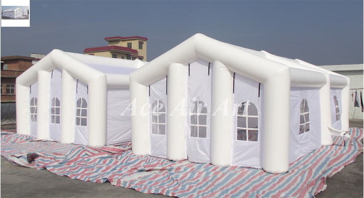 Grass Inflatable Wedding Party Tent, Event Inflatable Lawn Tent, Giant  Inflatable Tent For Sale
