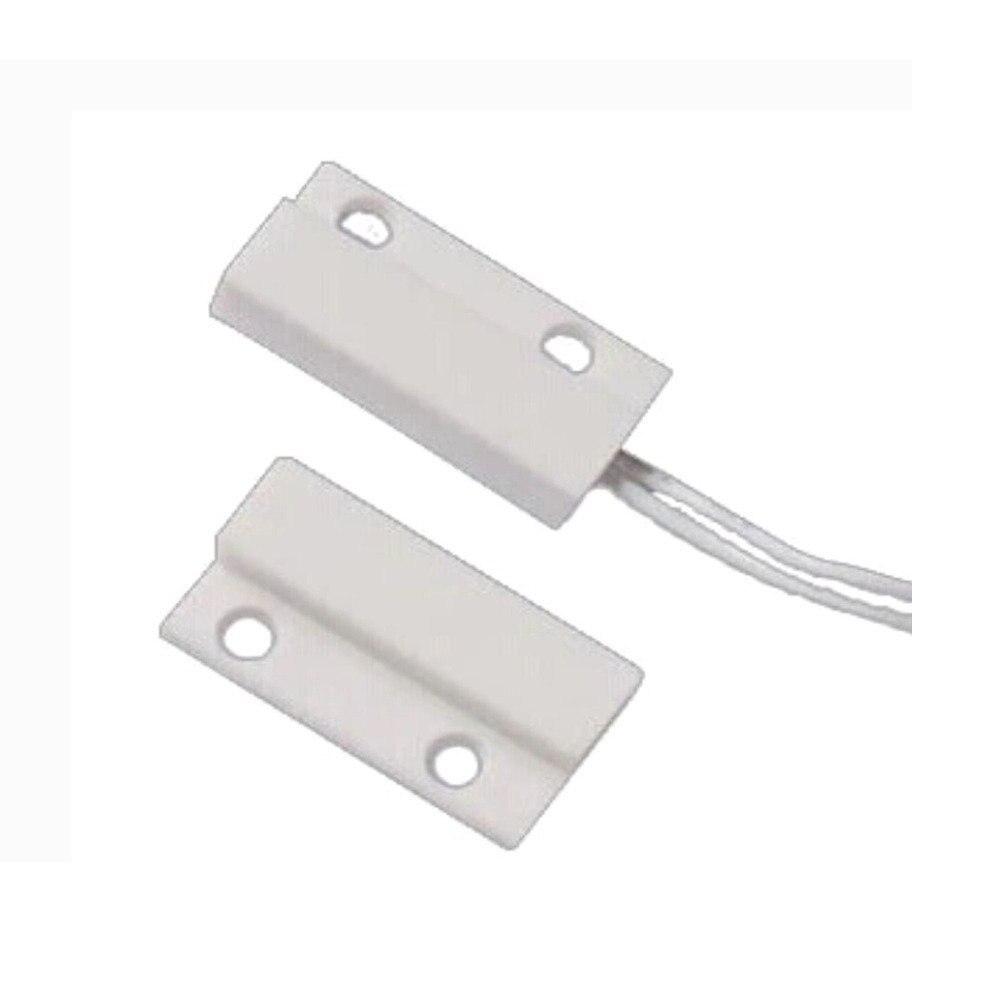 1 Paar Mc 38 Bedrade Alarmsysteem Deur Raam Sensor Magnetische Schakelaar Geschikt Voor Mannen En Vrouwen Van Alle Leeftijden In Alle Seizoenen