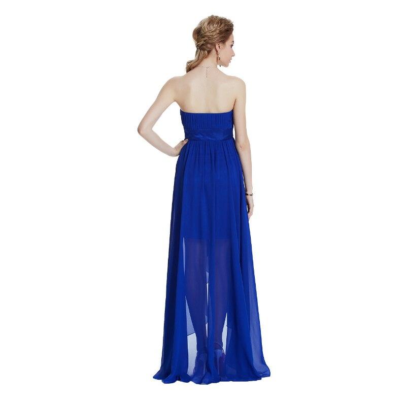 W.JOLI Long Evening Dresses 2017 Vestido De Festa Brude Bankett - Spesielle anledninger kjoler - Bilde 2