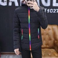 VERSMA 2017 Mode Slim Fit D'hiver Matelassé Veste Manteau Hommes Parka Casual Chaud Rembourré Hommes D'hiver Vestes Chine Vêtements Usines