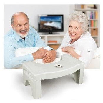 328 Promotion Health Care  Stool Bathroom Potty Squat Toilet Helper Assistant Footseat Massage Relaxation  toilet stool Туалет