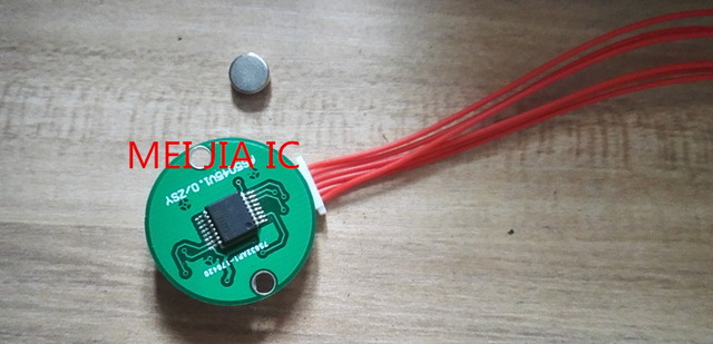 US $16 92 6% OFF|Magnetic sensor encoder as5045 high precision angle sensor  to send STM32 and 51 routines can be customized -in Replacement Parts &