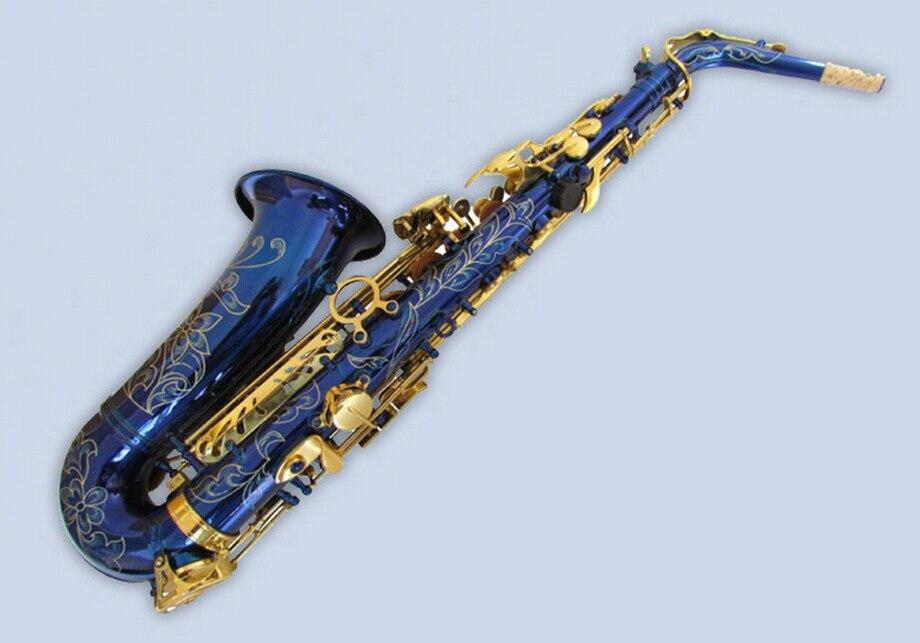 achetez en gros alto saxophone bleu en ligne des. Black Bedroom Furniture Sets. Home Design Ideas
