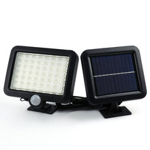 LED Solar Power PIR Motion Sensor Wall Light 56 LEDs Outdoor Waterproof Energy Saving Street Yard Path Home Garden Security Lamp 1pcs led solar power light control wall light 6 led outdoor waterproof energy saving street yard path home garden security lamp