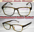 Light coloured leopard full rim Optical Custom made optical lenses Reading glasses +1 +1.5 +2+2.5 +3 +3.5 +4 +4.5 +5 +5.5+6