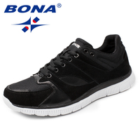 BONA New Arrival Classics Style Men Casual Shoes Lace Up Men Loafers Mesh Men Outdoor Fashion