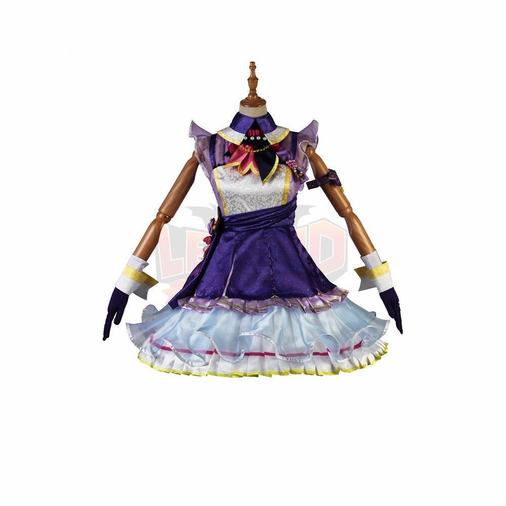 Game THE IDOLM@STER PLATINUM STARS DLC Shijou Takane Miki Hoshii Cosplay adult costume outfit custom made halloween
