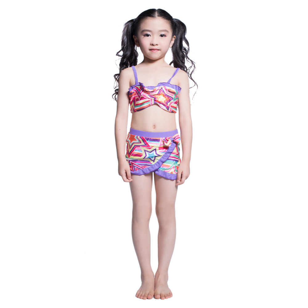 d17e0e0f332 Designer Kids String Bikini For Teenage Girls Princess Swimwear Children  Two Pieces Bathing Suit Girl Swim Clothes