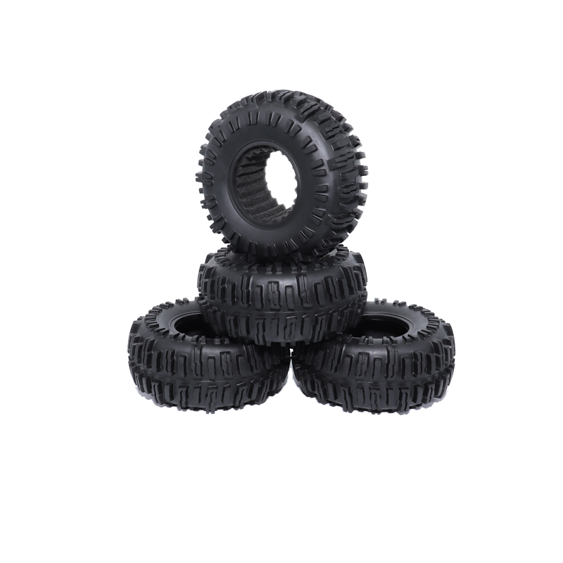 4PCS <font><b>RC</b></font> <font><b>Crawler</b></font> <font><b>2.2</b></font> Inch <font><b>Tires</b></font>/tyres for 1/10 Rock <font><b>Crawler</b></font> Axial SCX10 RR10 90053 AX10 Wraith 90056 90045 <font><b>RC</b></font> Car Tyres image