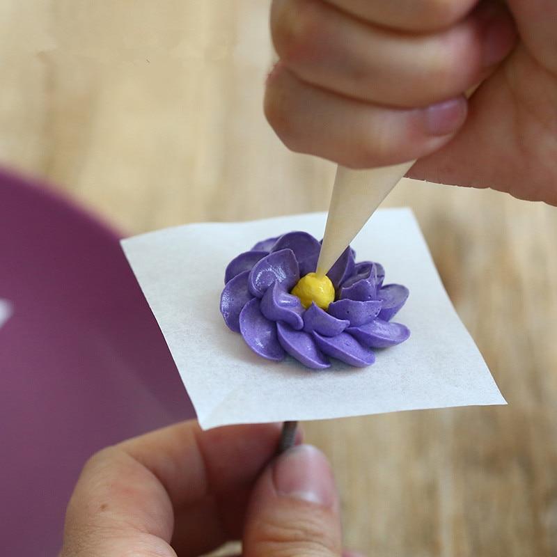 Krém torta jegesedés csövek virág díszítő papír esküvői - Konyha, étkező és bár - Fénykép 2