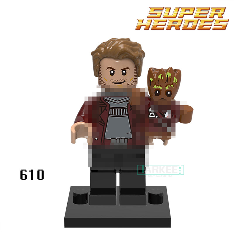 Building Blocks Star-Lord XH610 Gamora Guardians of the Galaxy Action Figures Starwars Super Heroes Bricks Kids DIY Toys Hobbies building blocks pg966 the twelfth doctor idea021 doctor who set 21304 super hero action bricks kids diy educational toys hobbies