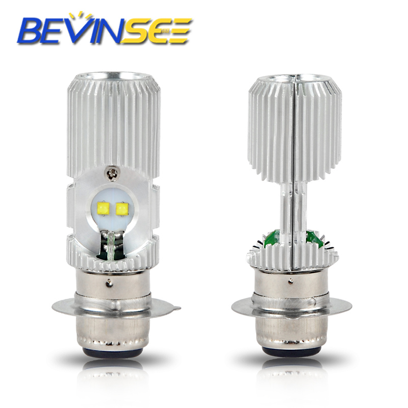 2X 100W BA20D H6 For KTM 125 250 350 400 450 690 LED Motorcycle Headlight Bulb