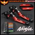 Para kawasaki z1000sx/ninja 1000/tourer 2011-2016 11 12 13 14 15 red folding extensível ajustável motocicleta alavancas de freio de embreagem