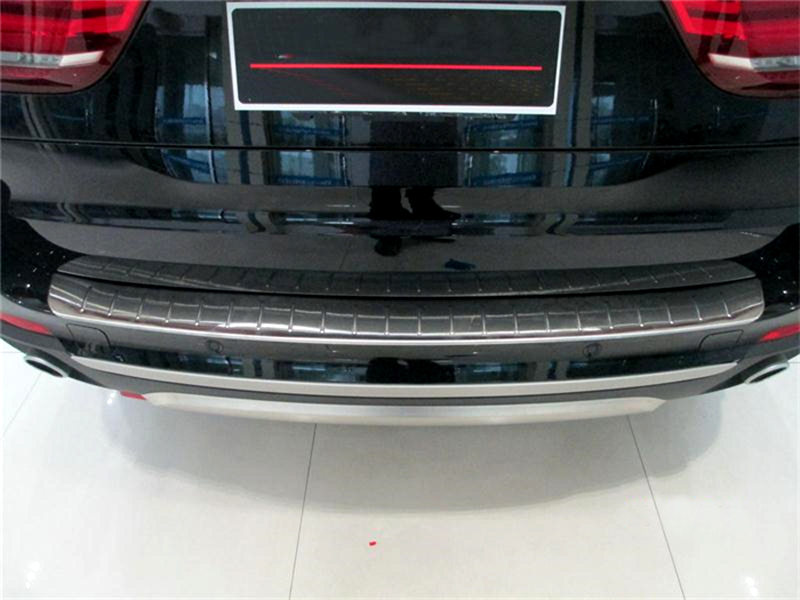 1pcs Rear Outer Rear Bumper Guard Plate For BMW X5 F15 2014 2015