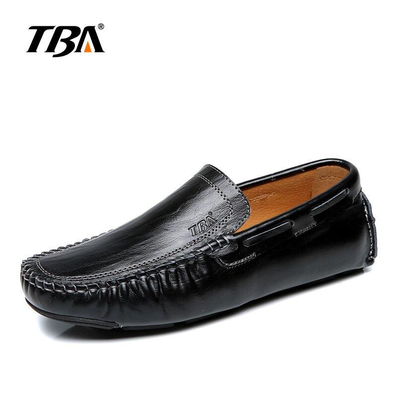 Mode Hommes Mocassins en cuir Casual,noir,9.5,14_14