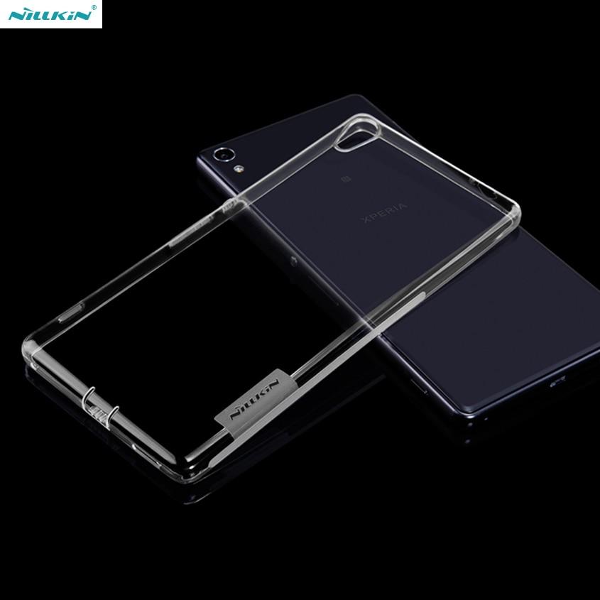 Originální NILLKIN pro pouzdro Sony Xperia XA Ultra Ultra tenké štíhlé pouzdro TPU vysoké kvality Zadní kryt pro Sony Xperia XA Ultra