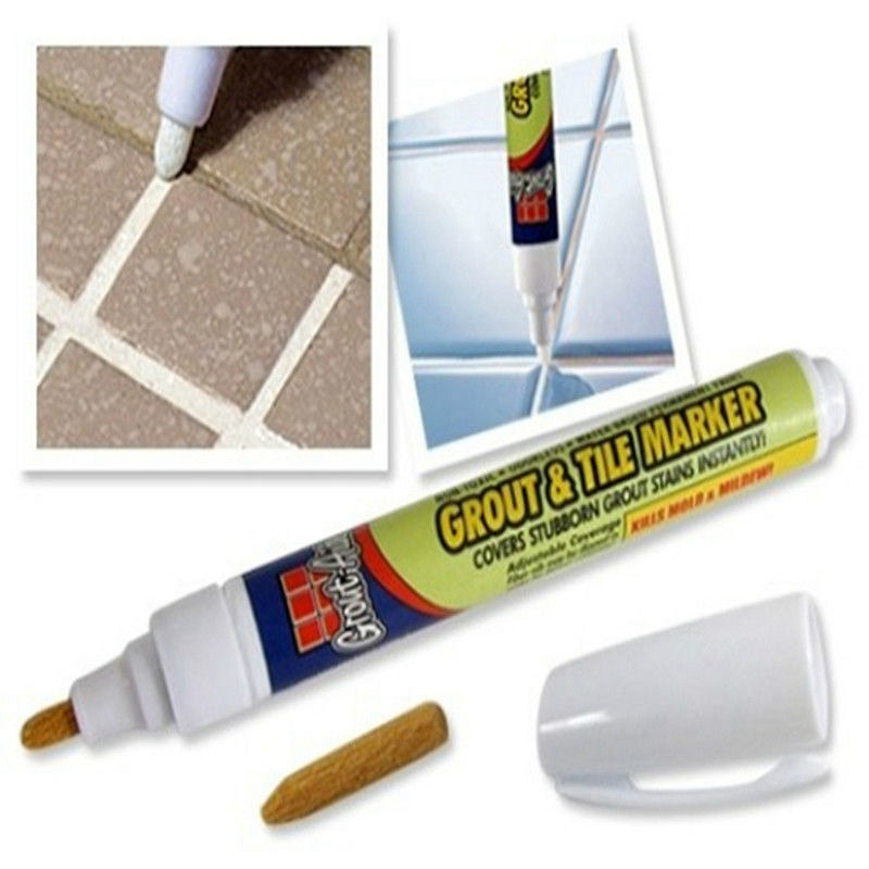 3Pcs Grout Aide Repair Tile Marker Wall Pen Bathroom Accessories in  Bathroom Accessories Sets from Home   Garden on Aliexpress com   Alibaba  Group. 3Pcs Grout Aide Repair Tile Marker Wall Pen Bathroom Accessories