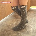 Niño Nuevo Diseño Calcetines Para Bebé Niñas niños Otoño Invierno Calentadores de La Pierna Calcetines Zorro Cojín de La Rodilla Meia