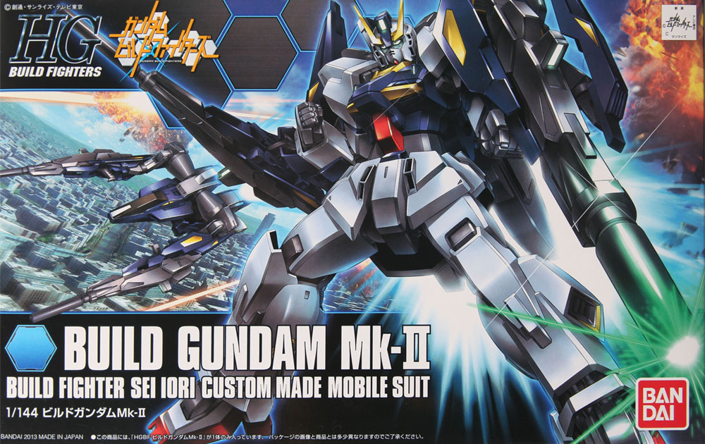1PCS Bandai HG Build Fighters HGBF 004 1/144 Build Gundam BUIL Mk-II Mobile Suit Assembly Model Kits HOT KIDS TOYS Rrobot Gunpla стоимость