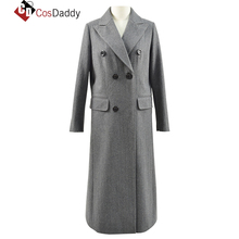 CosDaddy Doctor Who 13 Jodie Whittaker The Doctor Jatuh Kejahatan Master Episode Coat