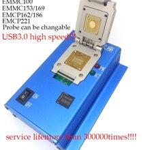 EMMC eMCP заказной eMMC100 eMMC153 169 eMCP162 186 eMCP221 разъем серии USB3.0 ридер прочный корпус зонд сенсорный контакт