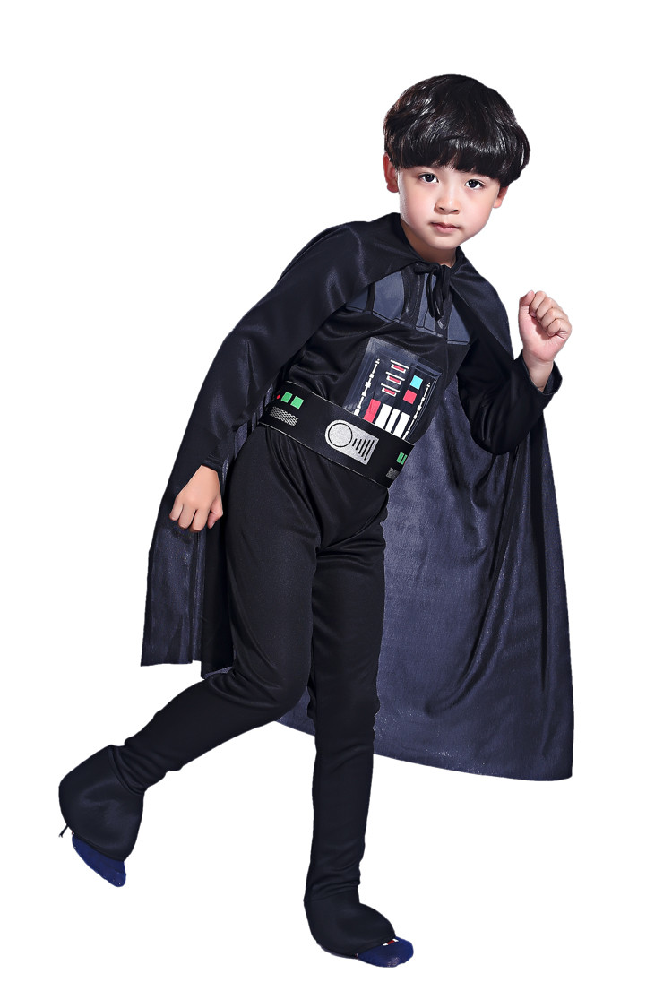 free shipping halloween carnival star wars costume kids boys storm trooper darth vader anakin skywalker children cosplay clothes in boys costumes from